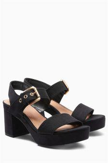Forever Comfort Platform Sandals