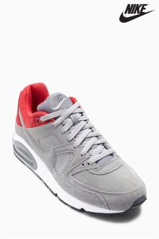 Grey/Red Nike Air Max Command