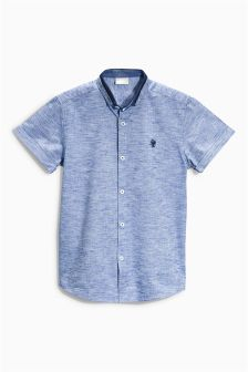Blue Grindle Shirt (3-16yrs)