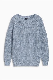 Fisherman Crew Neck (3-16yrs)