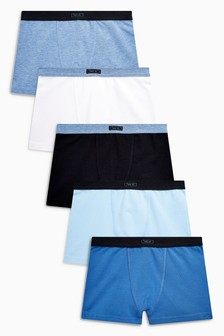 Blue Trunks Five Pack (2-16yrs)