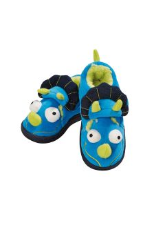 Blue 3D Dinosaur Slippers (Younger Boys)
