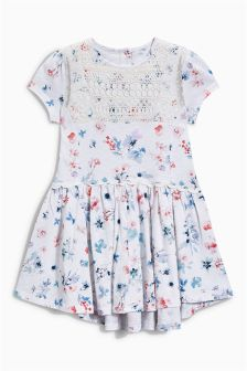 Ecru Floral Tunic (3mths-6yrs)