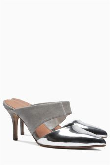 Leather Forever Comfort Pointed Mules