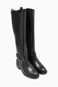 Strap Rider Boots