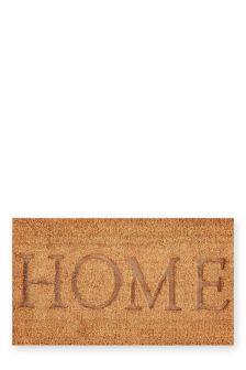 Home Embossed Doormat