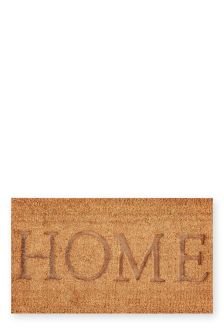Home Embossed Doormat