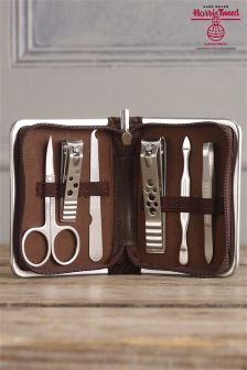 Manicure Set Using Harris Tweed Fabric