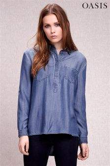 Denim Oasis Tamsin Tencel® Shirt