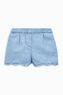 Scallop Shorts (3mths-6yrs)