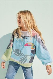 Toucan Crew Neck Sweat (3-16yrs)