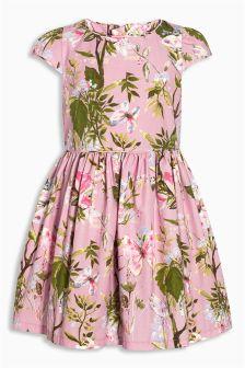 Pink Floral Prom Dress (3-14yrs)