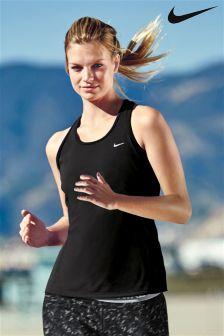 Nike Black Contour Running Tank