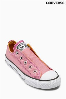 Converse Pink Slip-On Lo