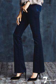 Denim 7 For All Mankind Skinny Boot Cut Jean