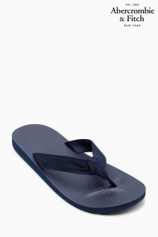 Abercrombie & Fitch Navy Flip Flop