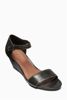 Contrast Stitch Wedges
