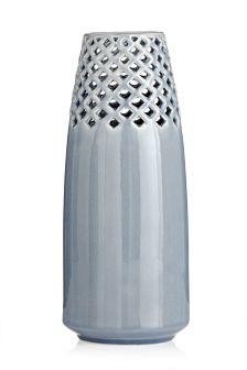Lattice Ceramic Vase