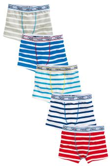 Breton Stripe Trunks Five Pack (2-16yrs)