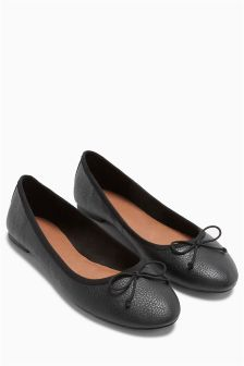 Soft High Vamp Ballerinas