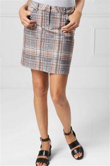 Check Cord Skirt