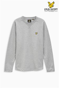 Lyle & Scott Grey Lightweight Sweatshirt