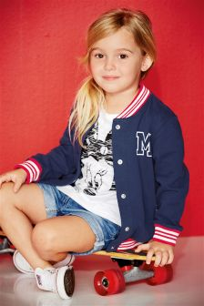 Navy Varsity Jacket (3mths-6yrs)