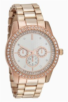 Embellished Watch