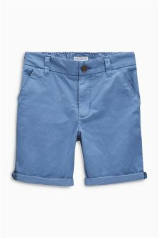 Blue All Over Print Chinos (3-16yrs)