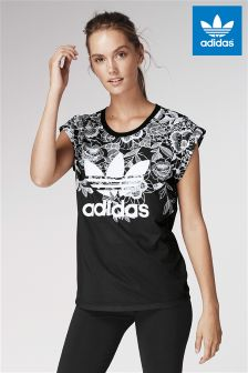 adidas Originals Black Floridio Tee