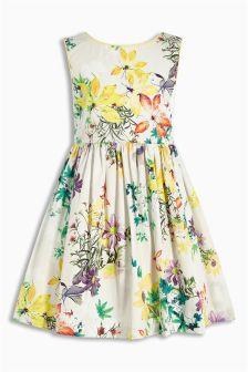 Floral Prom Dress (3mths-6yrs)