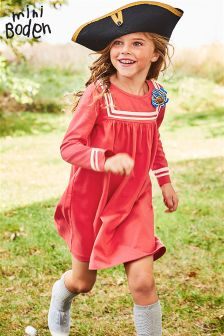 Boden Raspberry Whip Sailor Dress