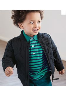 Quilted Bomber Jacket (3mths-6yrs)