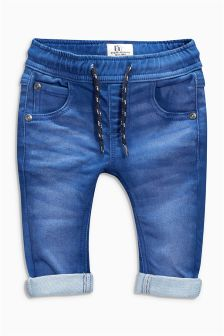 Aqua Denim Pull-On Jeans (3mths-6yrs)