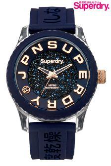 Superdry Blue Tokyo Shimmer Watch
