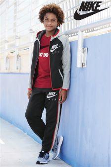 Black/Grey Nike Raglan Tracksuit