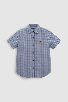Check Short Sleeve Shirt (3-16yrs)