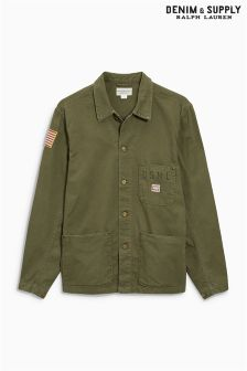 Ralph Lauren Denim & Supply Khaki Utility Jacket