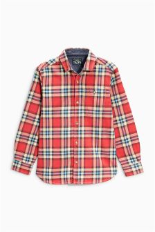 Brushed Check Shirt (3-16yrs)