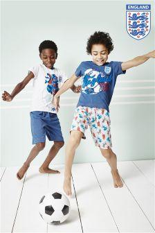 Two Pack England Pyjamas (3-16yrs)