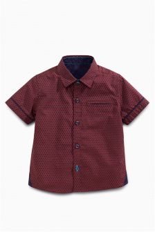 Short Sleeve Printed Shirt (3mths-6yrs)