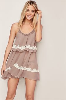 Guipure Embroidery Babydoll