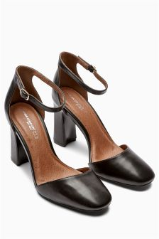 Forever Comfort Leather Two Part Shoes