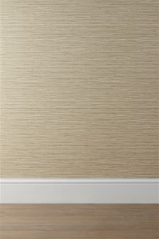 Ochre Seagrass Texture Wallpaper