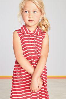 Red Stripe Dress (3mths-6yrs)