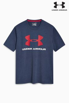 Under Armour Midnight Navy Logo T-Shirt