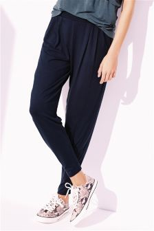 Jersey Taper Trousers