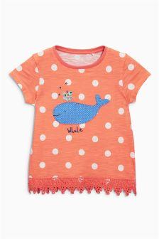 Spot Whale T-Shirt (3mths-6yrs)