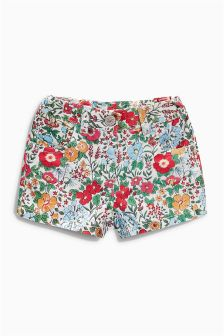 Floral Five Pocket Shorts (3mths-6yrs)