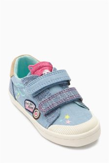 Embellished Low Tops (Younger Girls)